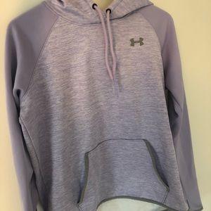 UA purple sweatshirt